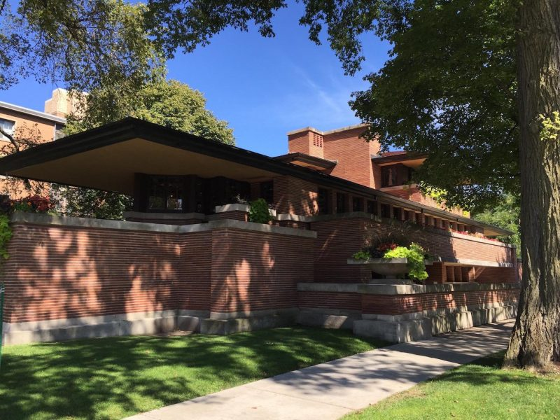 tour Frank Lloyd Wright Robbie House