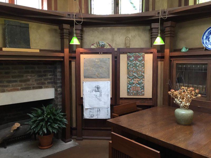 tour Frank Lloyd Wright Sala de Apresentação de Projetos do Studio