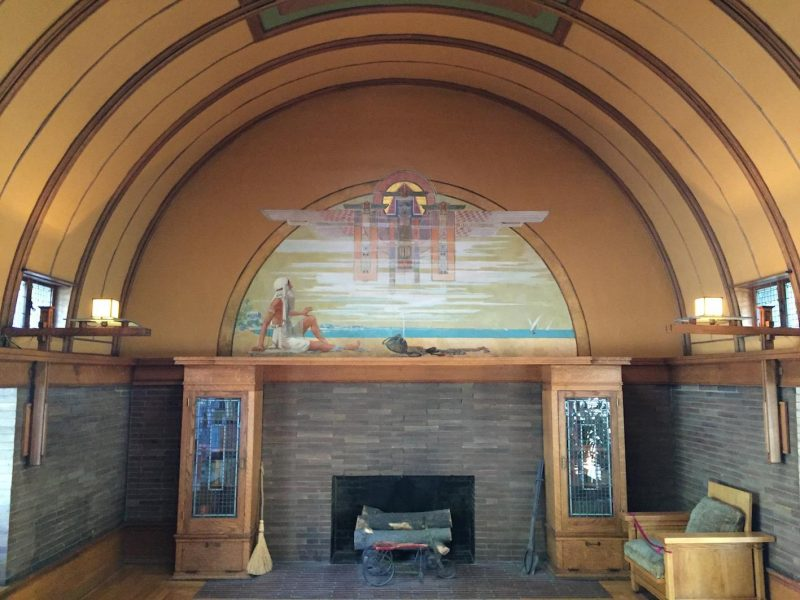 tour Frank Lloyd Wright Sala das crianças Frank Lloyd Wright Home