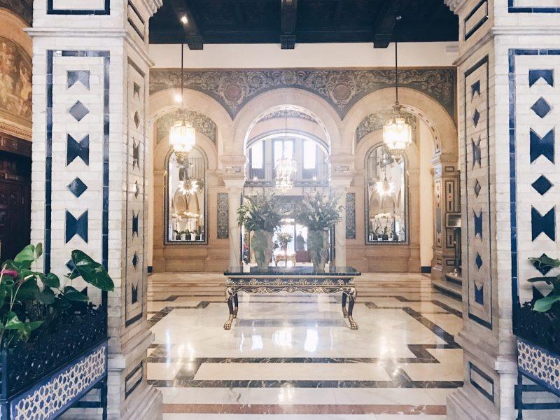 lobby hotel alfonso xiii