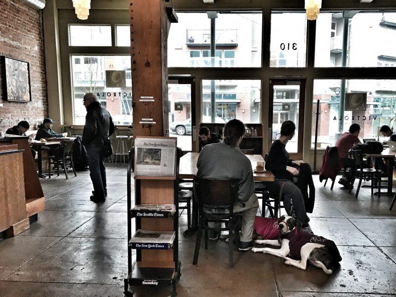 Victrola Coffee Roasters Seattle