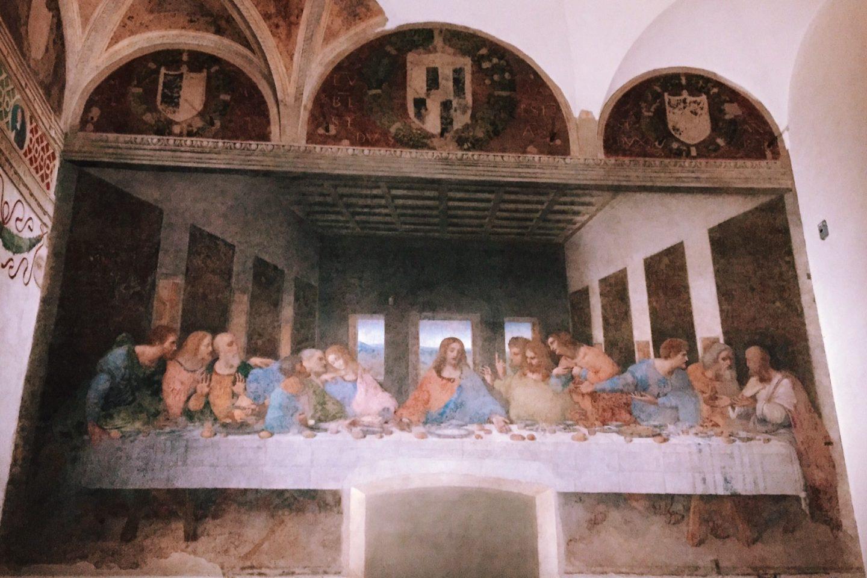 Última ceia de Leonardo da Vinci