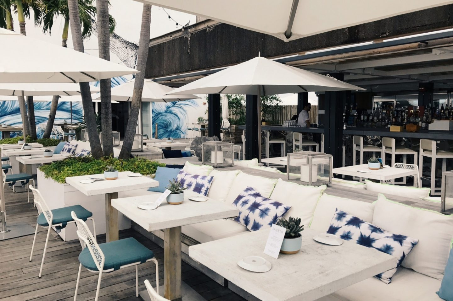 The 1 Rooftop at 1 Hotel South Beach