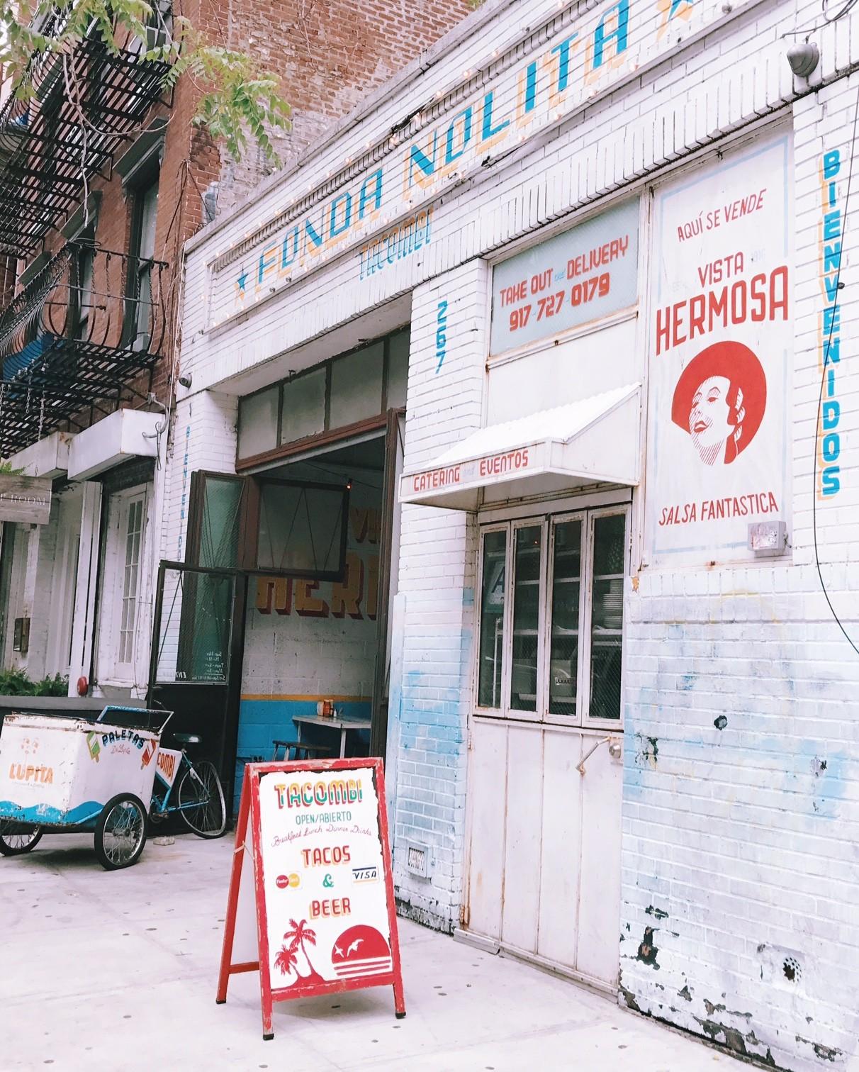 tacombi restaurantes em ny