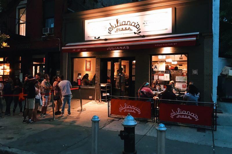 restaurantes em NYC julianas